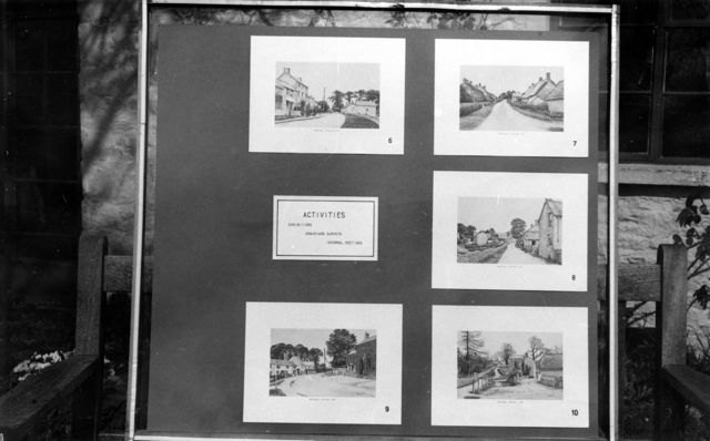 April 1989: Display boards used at the OLHA exhibition at the central library, Oxford.