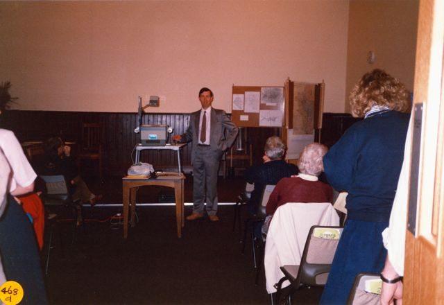 September 1990: Parish Package Lectures. David Eddershaw.