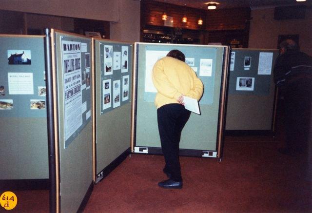 1995 Bartons on Display Exhibition.