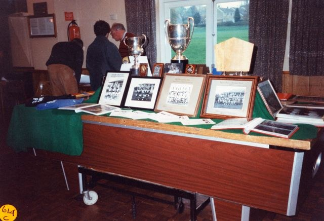 1995 Bartons on Display Exhibition. Sports Trophies.