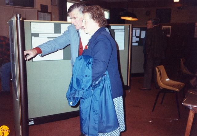 1995 Bartons on Display Exhibition.  Horace Wood, Jesse Newman.