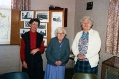 1988: Audrey Martin, Ruth Kirby, Madge Byford at Duns Tew Monday Club.