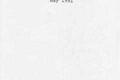 September 1990: Parish Package Lectures. David Edderslaw.