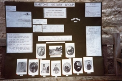 1992: Board taken to the Oxfordshire Family History Association Open Day, Oxford.