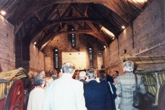 September 1991 Visit to the opening of Swalcliffe Barn.