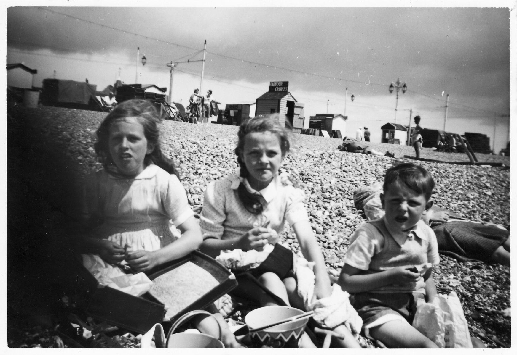 Jenny Reed, Jill Sinson and Nigel Potter.