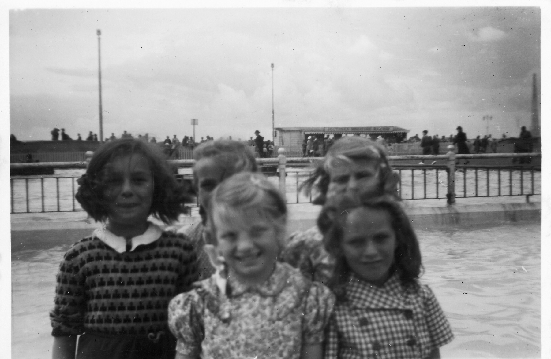Back row: Ruby Hazell, Jill Simson and Dorothy Chilton.Front row: Joy Chilton and Jenny Read.