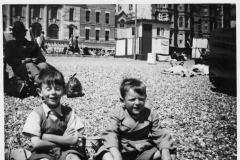 Bognor (perhaps).Keith Thomas and Nigel Potter.