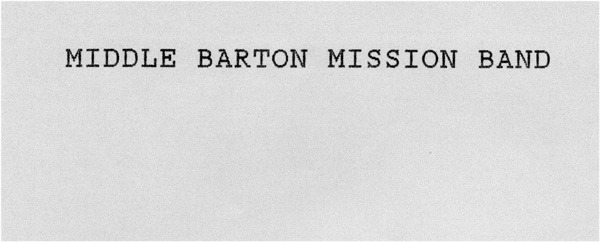 Middle Barton Mission Band.