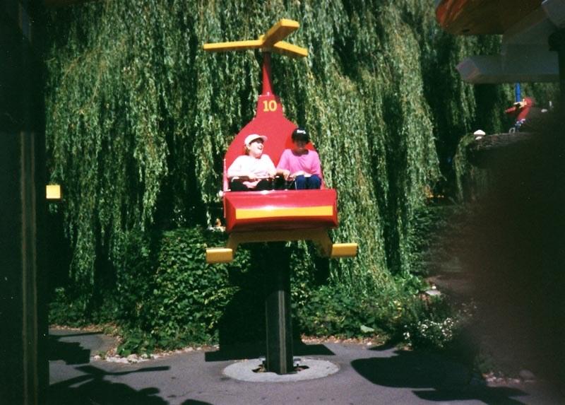 1999 Sunday school outing to Legoland.