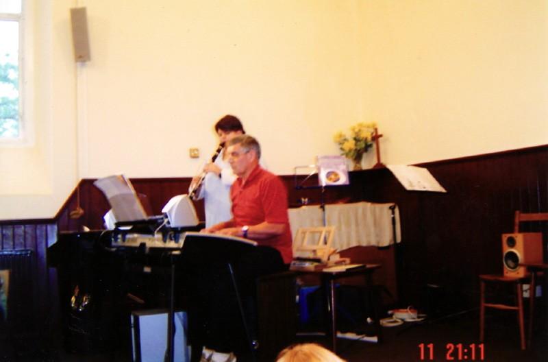 2005 Music and Magic social.