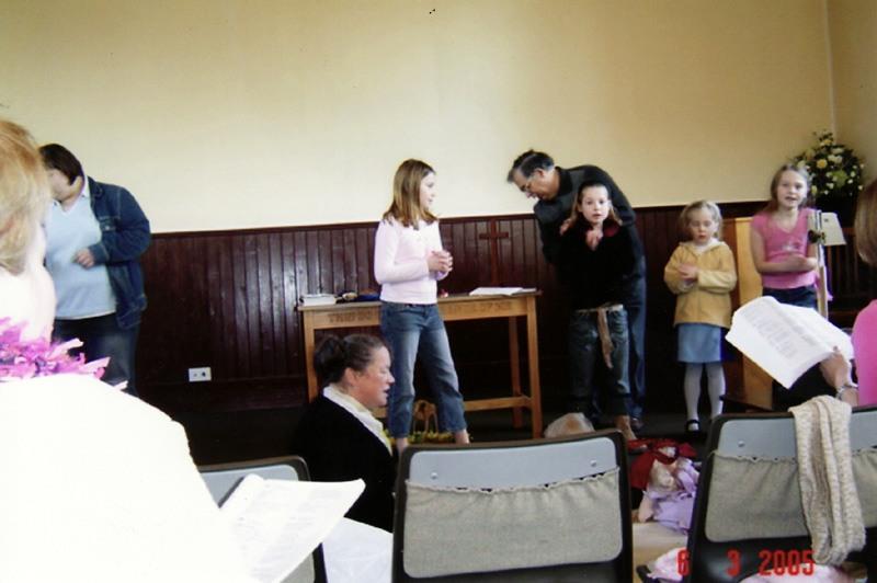 2005 Mothering Sunday service.