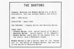 The Bartons - Parish details.