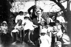 c. 1920 Ken Castle with Sunday School Group.