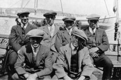 c. 1930 Ted Smith, Ken Castle, Alec Stewart, Jack Thomas, Bill Stewart, Tom Stewart.
