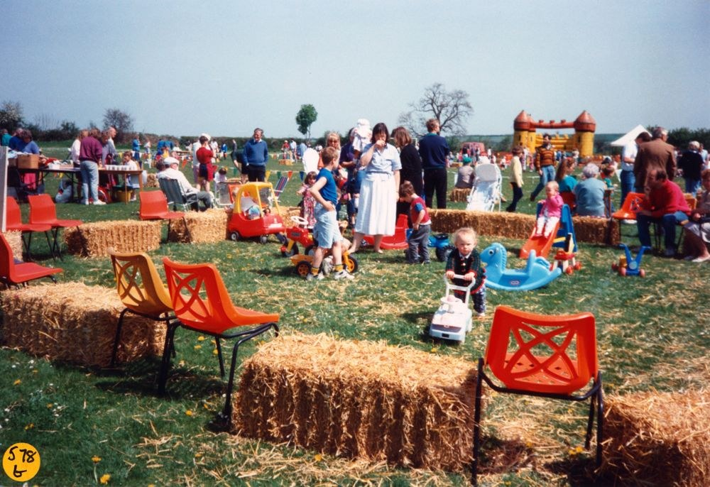 1994 Playgroup May Day Fete.