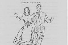 17 February 1964 Area Folk-Dance Festival, Banbury Grammar School.
