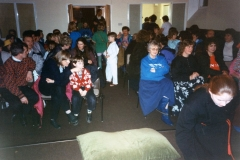 12 March 1992 Guides Pantomine. Audience.