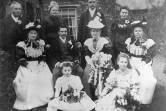 1890 Charles John Eaglestone married Elizabeth Miriam Woodward. The bride came from the Woodstock butcher's family and helped her husband with his business. She signed the bill three months before their son was born.