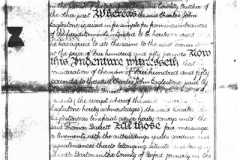 May 1 1903 Property (cottages and butcher's shop) transfer indenture (1).