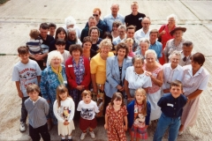 July 15 1995 Eaglestone family day - group photo.