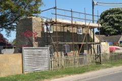 May 2010 House rebuild, 14 Enstone Road.
