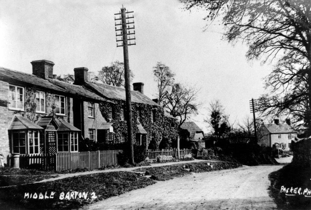 1920s 1930s Enstone Road.