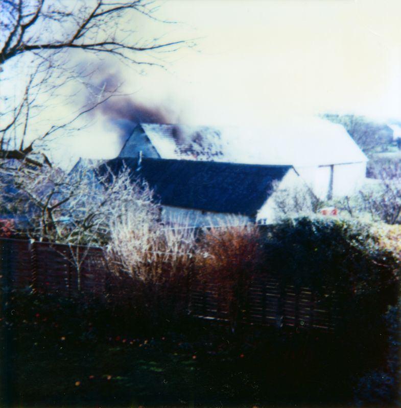 9 December 1984 Fire in Elm Grove Barn.