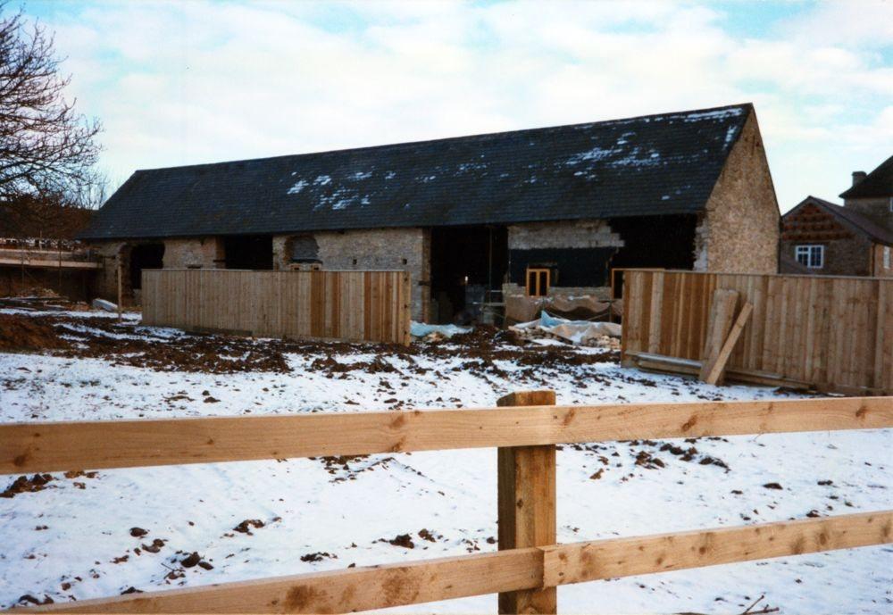 December 1996 Elm Grove Farm Barn conversion.