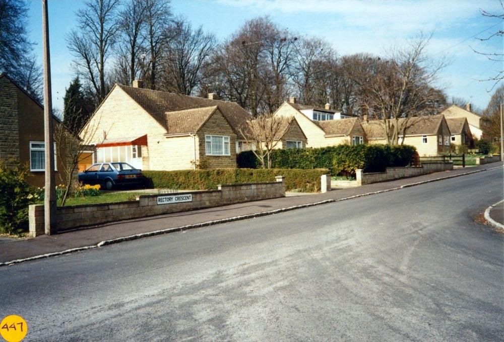 April 1990 Enstone Road.