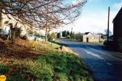 1984 Enstone Road looking east from The Fox.