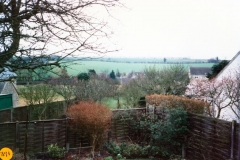 1985 From 11 Enstone Road. View looking south.