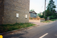 1989 House and garage built on the site of the sheds.