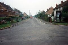 September 1992 1 -3 Hillside Road, looking east.