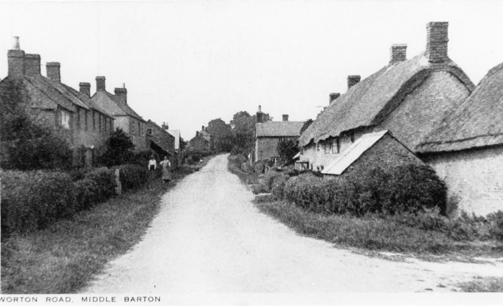 c.1920 Photograph taken for Kirby and Co - Worton Road looking north.