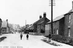 c.1920 Photograph taken for Kirby and Co - North Street looking west from No. 69.