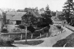 c.1920 Photograph taken for Kirby and Co - The ford on Mill Lane.