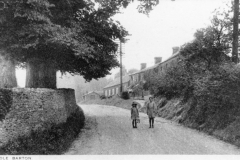 c.1920 Photograph taken for Kirby and Co - Enstone Road looking west from the crossroads.