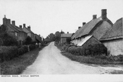 Original Kirby postcards - Worton Road looking north.