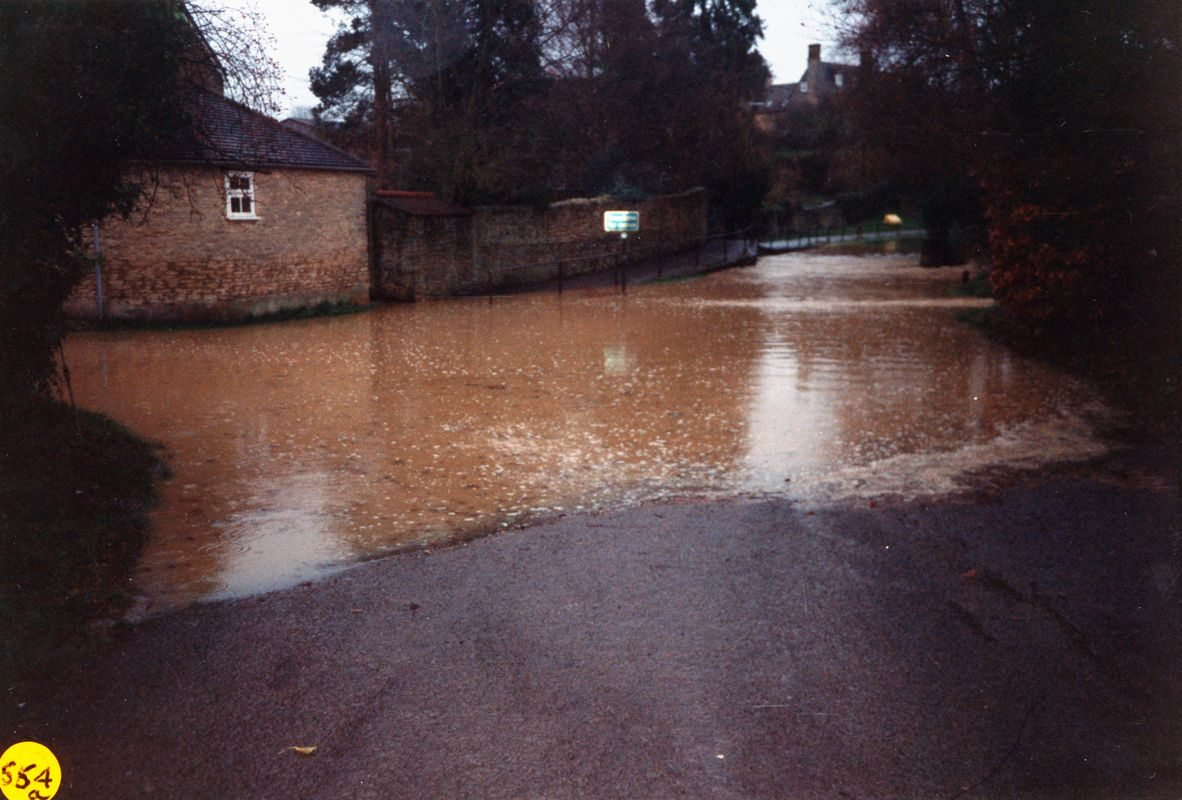 December 1992 Mill Lane ford flood.