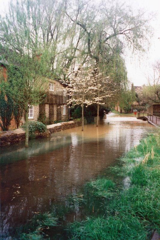 9 April 1998 Mill Lane ford flood.