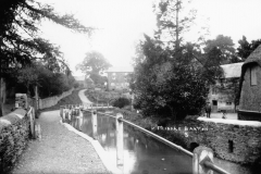 1920s 1930s Mill Lane looking south.