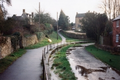 December 1992 Mill Lane looking south.