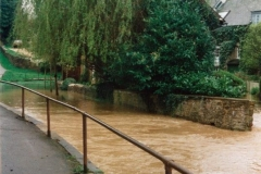 9 April 1998 Mill Lane ford flood.