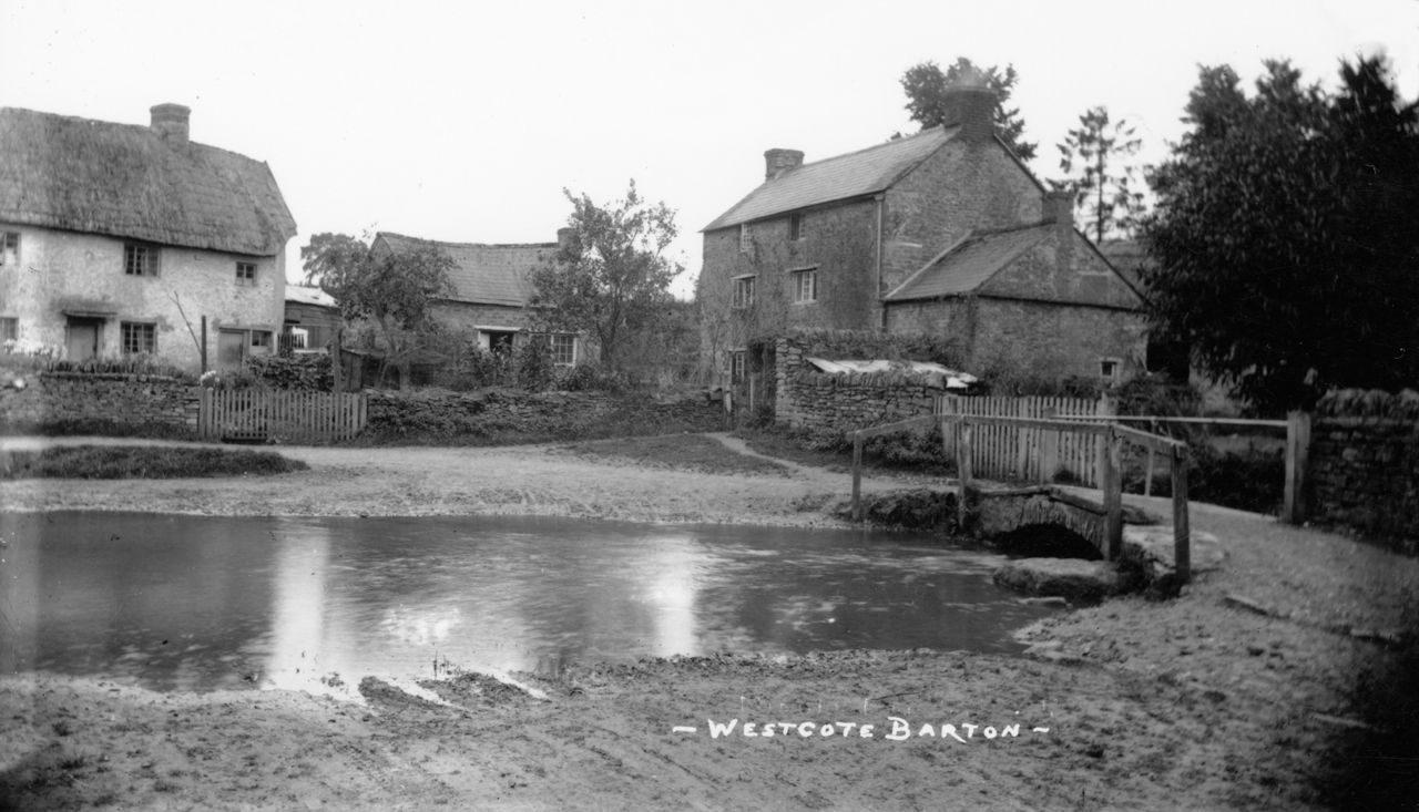 c. 1920 Westcote Barton Ford. 14 and 12 Fox Lane.