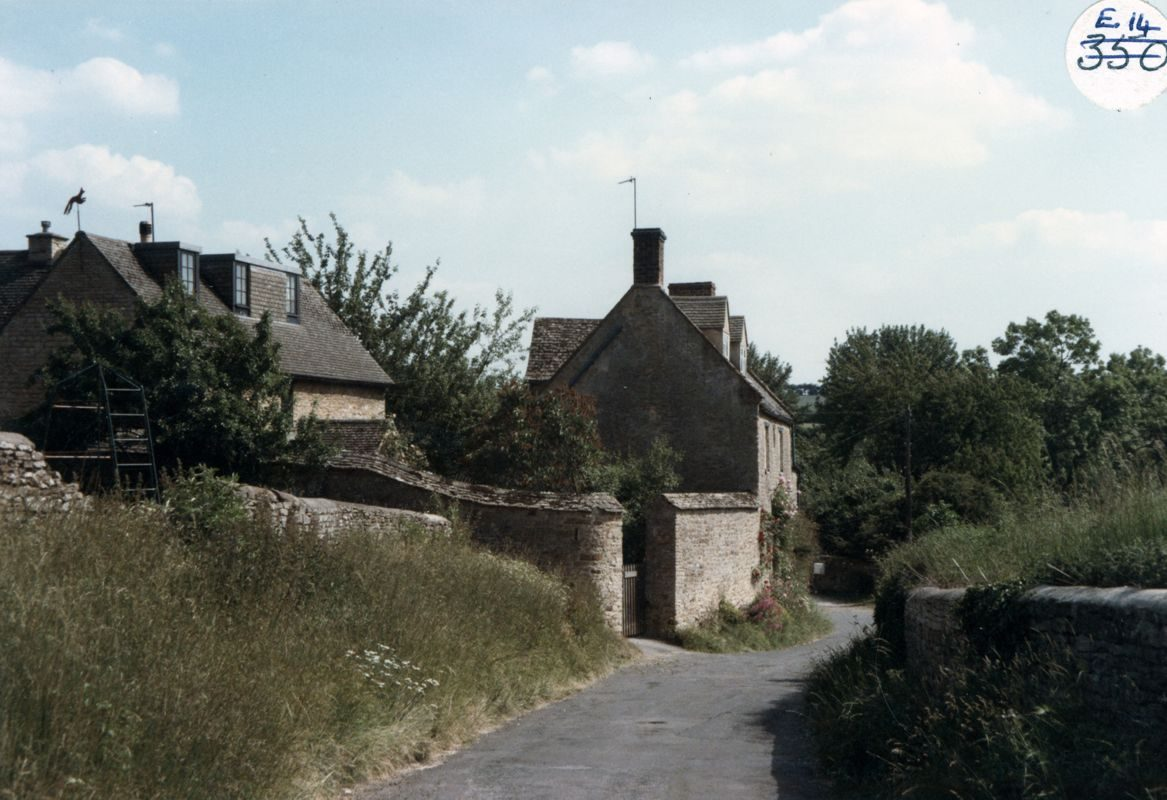 1985 Fox Cottage and the Old Malt House.
