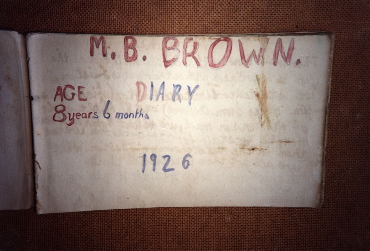 The Barratt Brown family lived in the Old Malt House from 1925-27. Drawings from the book created by their son, aged 8.
