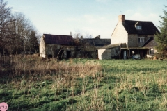 January 1987 Rear view of 17 Fox Lane.