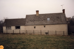 1991 Old Mill Cottage, Fox Lane. Rear view.