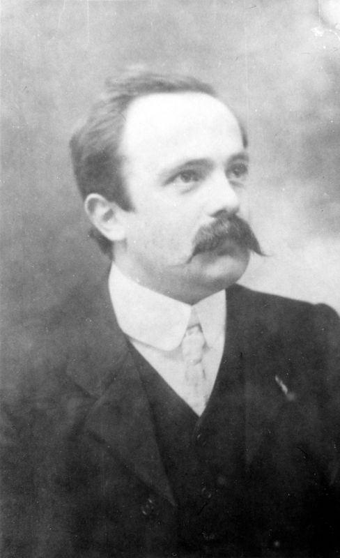c. 1906 George Henry Kirby 1877 - 1951. Husband of Ruth Watson 1883 - 1964.